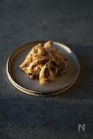 【春のデトックス】蓮根のフキノトウ炒め