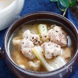 鶏と焼きネギのうま塩♡ジンジャースープ【#簡単 #節約】