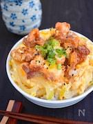 【リメイクレシピ】から揚げの親子丼