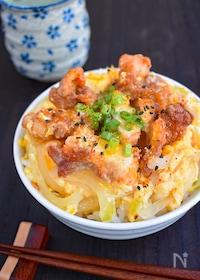 『【リメイクレシピ】から揚げの親子丼』