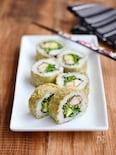 とろろ昆布のロール寿司