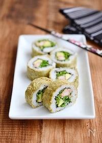 『とろろ昆布のロール寿司 』