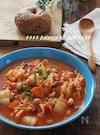 【ダイエットにも】白菜たっぷりポークトマトシチュー
