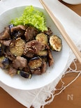 『豚肩ロースとナスのスタミナ炒め』#作り置き#お弁当