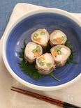 豚バラ肉の野菜巻きハーブグリル