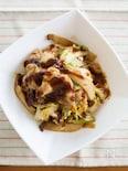 鶏むね肉とキャベツのピリ辛味噌炒め