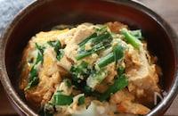 高野豆腐とニラの卵とじ