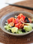 キムチトマトの韓国風サラダ
