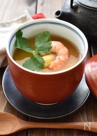 『ほっこり温まる♪長芋の茶碗蒸し』