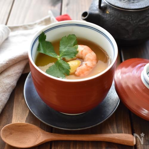 ほっこり温まる♪長芋の茶碗蒸し