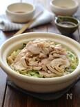 鶏白菜ごま油鍋