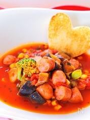 夏野菜のラタトゥイユ バジル風味