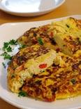 たっぷり旬野菜のチーズフリッタータ(イタリア風オムレツ)