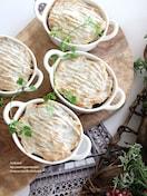 里芋のミートパイ
