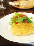 鶏胸肉のパルジャーミーノ風味カツレツ