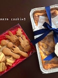 先生へのプレゼント♡チーズケーキとクッキー♪( ´▽`)
