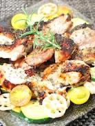 食材の味を楽しもう♪ハーブと塩麹de鶏肉と野菜のロースト