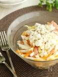 手作りカッテージチーズのサラダ
