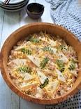 懐かしい昭和の味を再現!割烹白だしで作る『筍すしご飯』