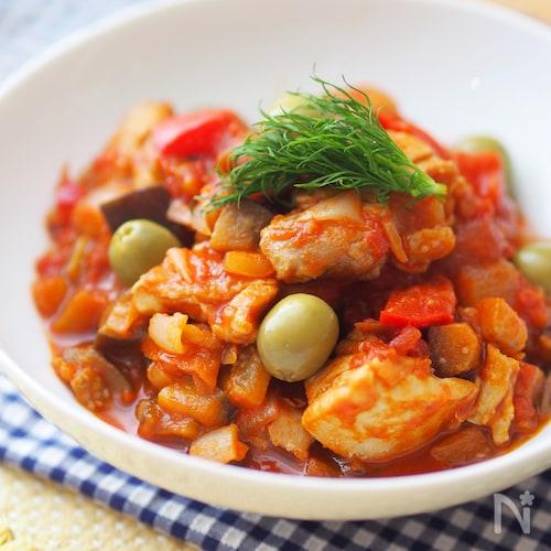 チリンドロン(鶏肉の野菜煮込み)