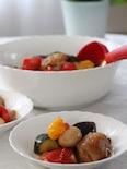 カラフル夏野菜のバルサミコ酢豚