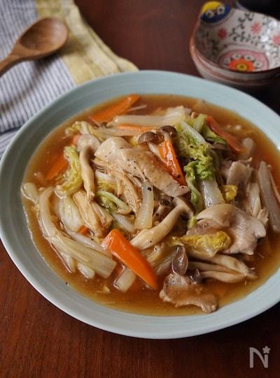 白菜と豚肉の中華あんかけ By 楠みどり Nadia ナディア レシピ