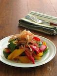かつお節で野菜を美味しく◎ピーマンのおかかバター醤油炒め