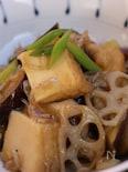 しょうが香る厚揚げとちりめんじゃこと野菜の炒め煮