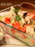 低温調理で驚くほどやわらか!鶏ムネ肉とレタスのシーザーサラダ
