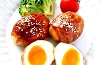ボリュームたっぷり!テリテリ半熟肉巻き卵