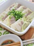 豚肉と白菜、豆腐のレンジ蒸し