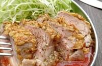低糖質高たんぱく〜豚ヒレ肉のカツレツ+レンチントマトソース