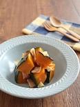 お鍋ひとつで簡単♪かぼちゃとベーコンの塩バター煮