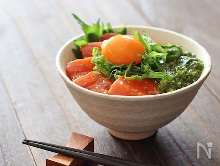 サーモン 漬け レシピ