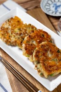想像通りの美味しさ!『鶏ひき肉と納豆のチーズ焼き』