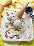 パリパリチョコのバナナアイスクリーム