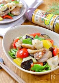 『野菜嫌い克服!ごはんが進む『鶏と彩り野菜のごま炒め』』
