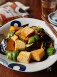 厚揚げと夏野菜の南蛮焼きびたし【適糖生活】