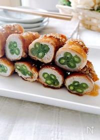 『いんげんの豚バラ肉巻き・甘辛だれ(お弁当のおかず)』