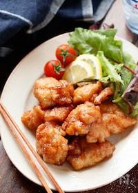 『たれづけ唐揚げ(タレカラ)【#作り置き#お弁当#むね肉】』