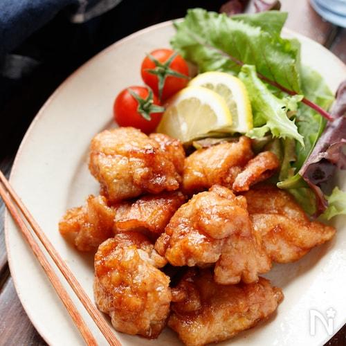 たれづけ唐揚げ(タレカラ)【#作り置き#お弁当#むね肉】