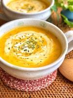 濃厚クリーミー☆かぼちゃと玉ねぎのポタージュスープ