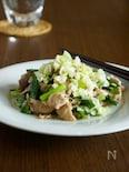 ご飯が進む!豚肉とニラのネギ塩炒め