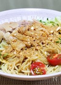 『ピリ辛で美味しい「鶏麺」』