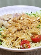 ピリ辛で美味しい「鶏麺」