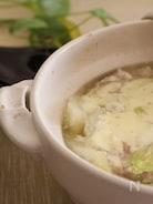 白菜と豚ばら肉の味噌チーズ鍋
