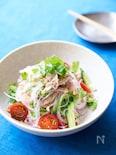 豚しゃぶヤムウンセン(タイ料理春雨サラダ)