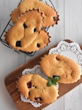ホットケーキミックスで簡単!紫芋のマドレーヌ風
