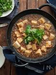我が家の麻婆豆腐。
