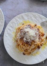 『美味しく仕上げるコツあり。ミートソーススパゲティ』